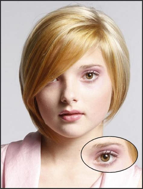 easy to maintain hairstyles round face thick eyebrows vs thin eyebrows eyes makeup tips