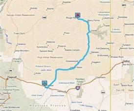 map of winslow arizona winslow az