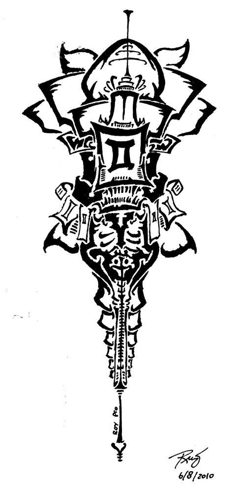gemini tribal tattoo design 25 tribal gemini tattoos designs and ideas