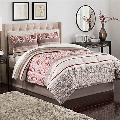 rust comforter set buy sienna comforter set in rust from bed bath beyond
