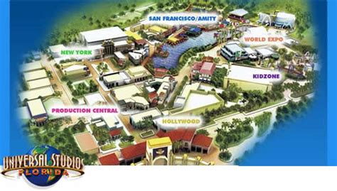 florida universal studios map universal studios florida theme park the magic for less travel