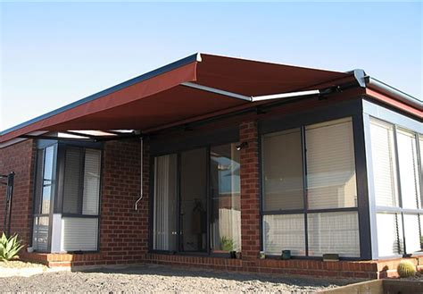 retractable awnings canberra sandstock protect window awnings