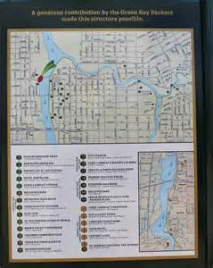 historical markers map wisconsin historical markers packers heritage trail map