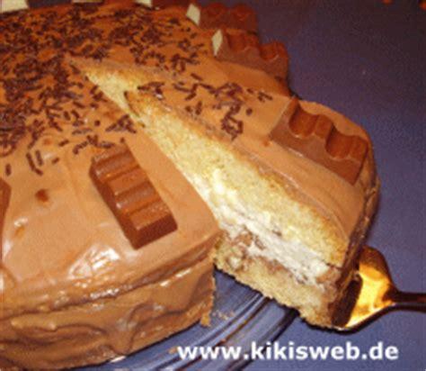 kinderschokolade kuchen rezept kinderschokoladentorte kinder torte kinderschokolade