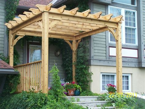 pergola plans canada  woodworking