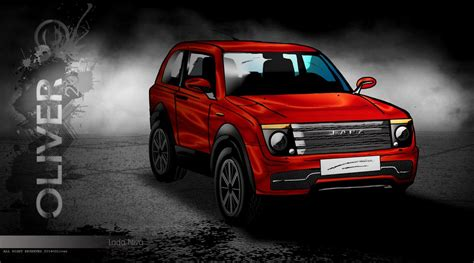 Lada Niva Concept Cars Concept Lada Niva Concept By Theartsoliver On Deviantart