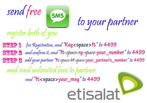etisalat free unlimited sms