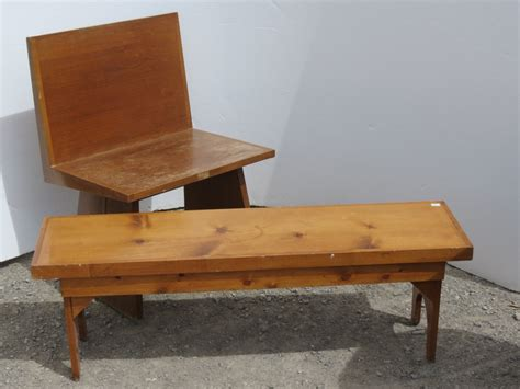 low wooden bench small wooden pine bench wood seat