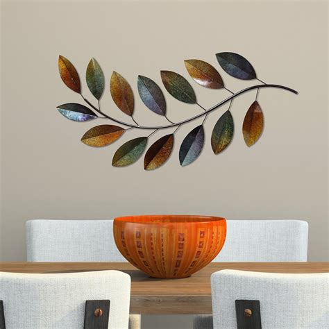 home depot wall decor home decorators collection 32 in multi colored metal wall