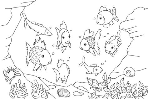 sea life coloring page az coloring pages