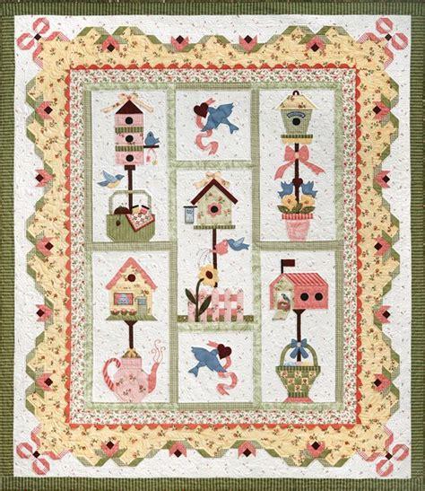 Birdhouse Quilt by Lovebird Quilts Birds Bird House Blocks