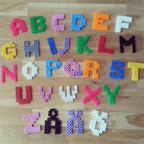 hama bead letter templates 25 best ideas about alphabet on hama