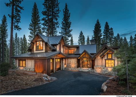 Best Cabin Plans mountain traditional architectural design montana timber