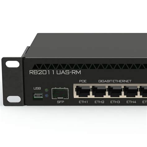 Mikrotik Routerboard Rb2011uias Rm mikrotik routerboard rb2011uias rm rackmount broadband router w 1x sfp port poe support