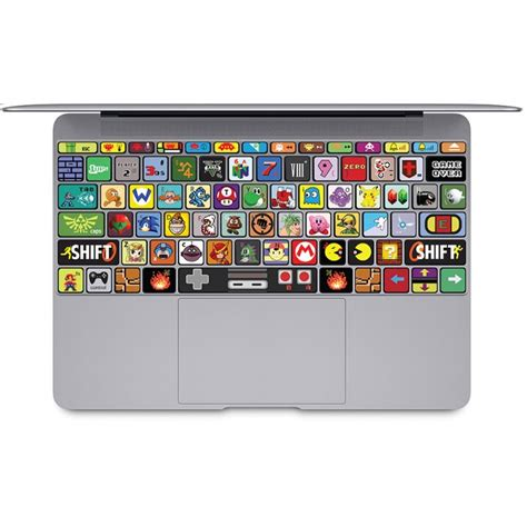 keyboard stickers nintendo keyboard stickers for macbook