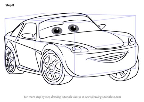 Cars 3 Sketches by Learn How To Draw Bob Cutlass From Cars 3 Cars 3 Step By