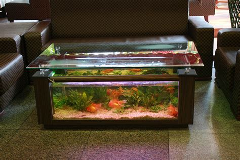 fish tank living room table fish tank living room table home design architecture