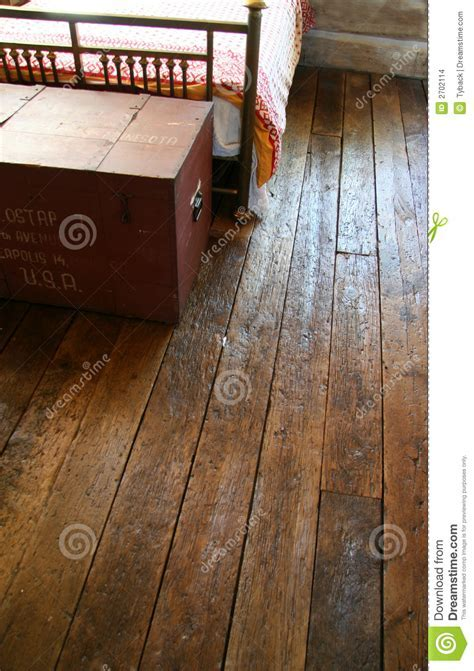 Reclaimed wood floors stock photo. Image of distressed