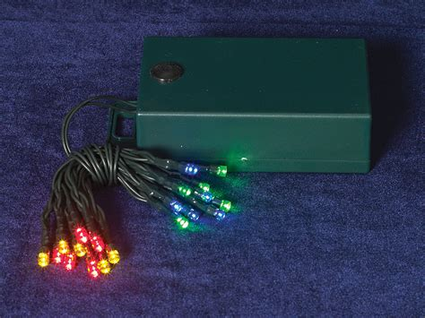 battery operated 20 led multi color mini lights indoor