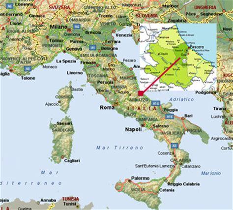 map of pescara italy pescara map and pescara satellite image