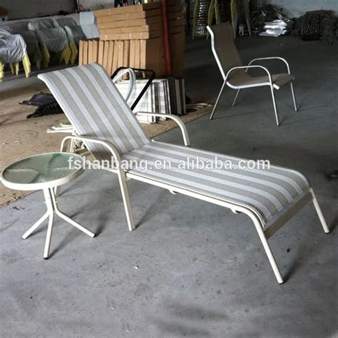 Aluminum Lounge Chairs Pool by Outdoor Pool Aluminum Lounge Chair Sun Lounger Buy