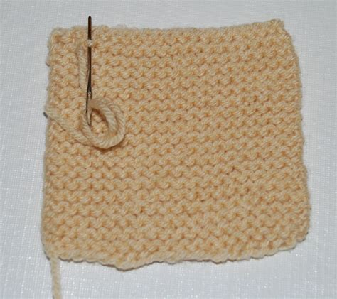 how do you end a knitting project how to knit your knitting project