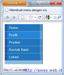 tutorial membuat desain web dengan joomla membuat menu dengan css