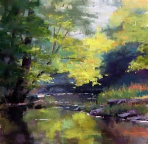 pastel landscape pastel artwork on soft pastel pastel