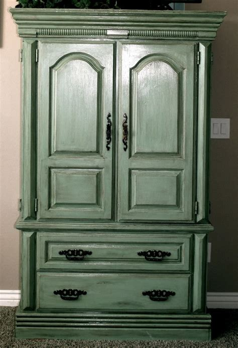 green armoire green armoire painted furniture pinterest