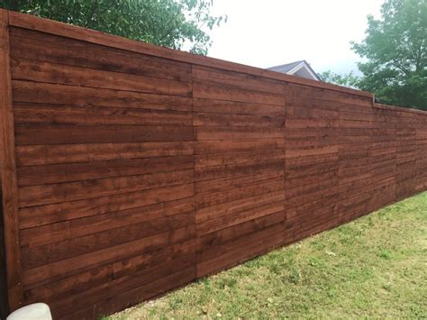 horizontal wood fence horizontal wood fences a better fence company