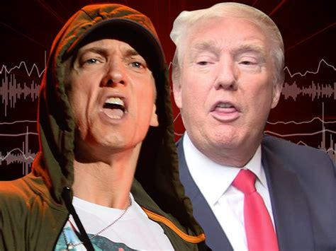 eminem donald trump diss track caign speech audio eminem releases trump diss song tmz com