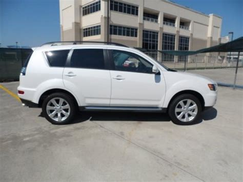 2008 mitsubishi outlander detailed pricing and auto design tech