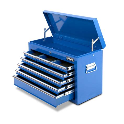 Toolbox With Drawers by 9 Drawers Tool Box Chest Blue