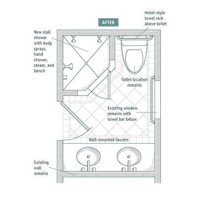 6 x 14 bathroom layout 25 best ideas about small bathroom plans on pinterest