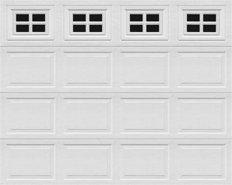 A 1 Overhead Door Continental Vinyl Garage Door