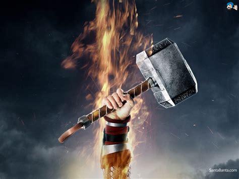 god  thunder thor symbols powers myth
