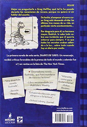 la ley de rodrick 8498674018 la ley de rodrick diario de greg 2 spanish edition import it all