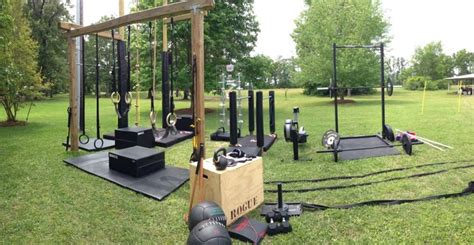backyard gym ideas outdoor backyard crossfit gym gym pinterest crossfit