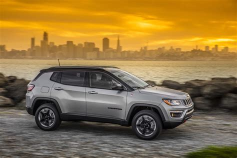 trailhawk jeep compass 2017 jeep compass trailhawk first drive compass finally