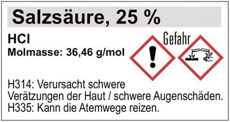 Beschriftung Chemikalien by Erweiterung Etikettensatz 1 Anorganische Chemie