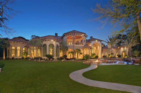 Mansions Floor Plans by Stunning Mediterranean Mansion In Houston Tx Homes Of
