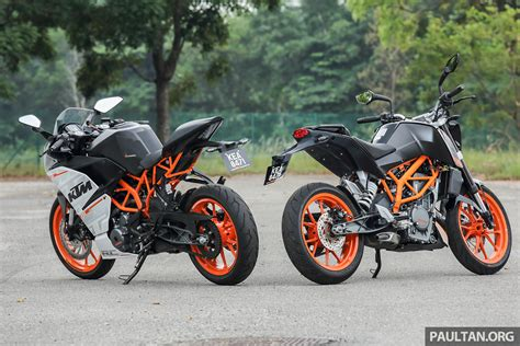 Price Of Ktm Duke Review 2016 Ktm Duke 250 And Rc250 Handling And