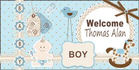 Welcome Home Baby Banners Arts Arts Welcome Baby Banner Template