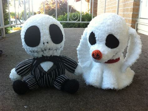 nightmare before christmas zero plush pattern jack and zero by aphid777 on deviantart
