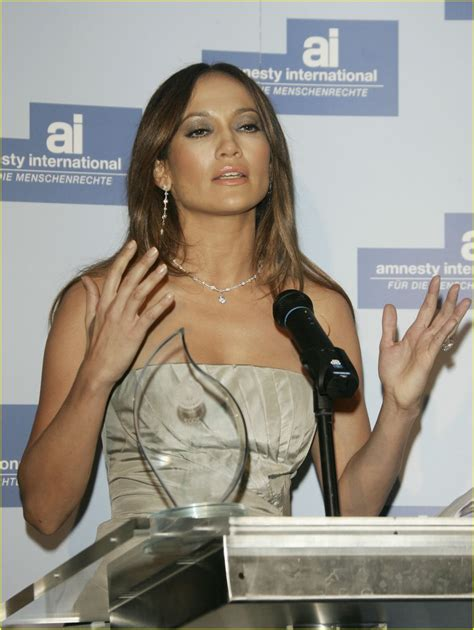 Jlo To Receive Amnesty Award by Granted Amnesty Award Photo 2418358