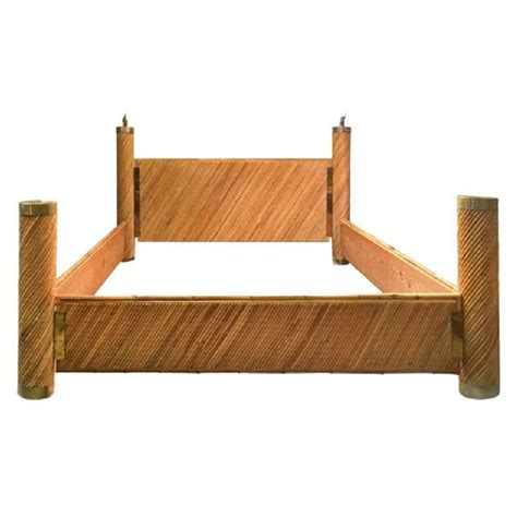 Bamboo Bed Frames Bamboo Brass Bed By Marcello Mioni For Sale At 1stdibs