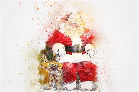 Free illustration: Christmas, Santa Claus, Gift, Art   Free Image on Pixabay   2578790