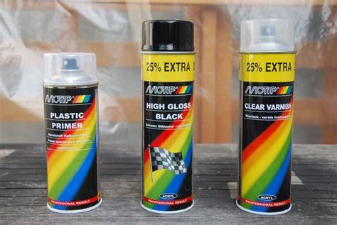 Peinture Pour Plastique En Bombe 7044 by Peinture Pour Pare Choc Plastique Noir