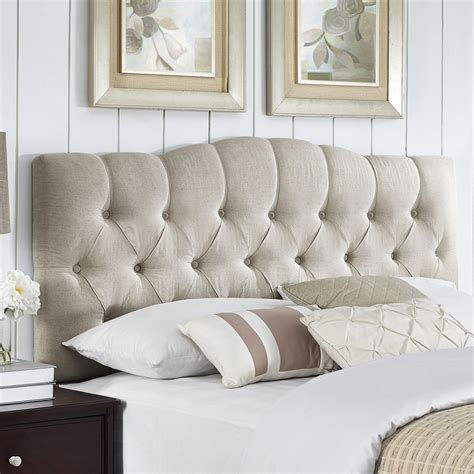 Upholstered Headboard by Three Posts Cleveland Upholstered Panel Headboard Reviews Wayfair Supply