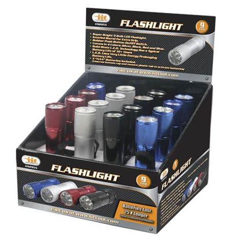 wholesale 9 led flashlight glw